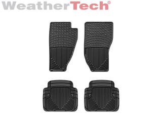 Weathertech® All Weather Floor Mats Jeep Liberty 2008 2012 Black