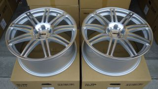 New MKS 18x8 5J 5x112 Wheels Fuzion 225 40R18 Tires Audi A3 VW Golf GTI TDI