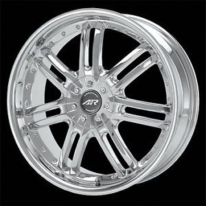 4 16x7 5 110 American Racing Haze Chrome Wheels Rims Chevy Malibu HHR Cobalt