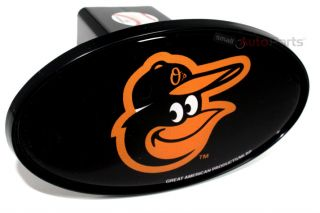"Baltimore Orioles MLB Tow Hitch Cover Car Truck SUV Trailer 2"" Receiver Plug Cap"