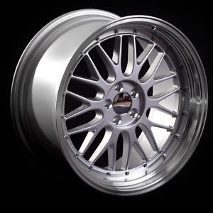 "BBs LM Style Alloys Alloy Wheels STAGGERED19"" 5x112 VW Caddy 2K"