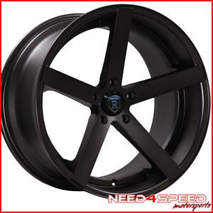 "20"" Mercedes Benz CLS500 CLS550 CLS63 Rohana RC22 Concave Black Wheels Rims"