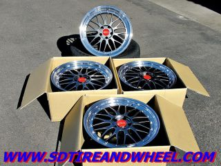 19'' BBs LM Style Staggered Wheels w New Tires BMW 3 Series Infiniti G37 350Z