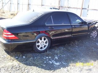 2000 Mercedes Benz Parts Car Junk Title