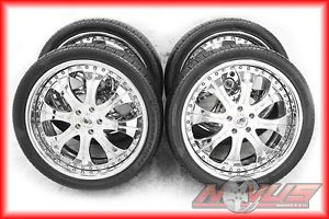 "22"" asanti Forged Luxury Chrome Land Rover Freelander Wheels Tires 20 24 18"