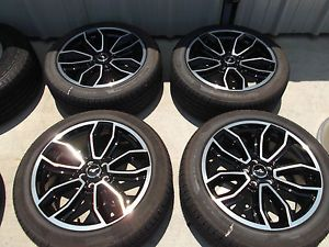 "19"" Ford Mustang GT Factory Black Wheels Tires Rims Pirelli 3909"