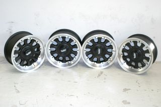 4 Black Rock 909 Wheels 17x8 5x5 07 12 Jeep Wrangler JK Used
