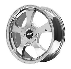 "15"" Chrome American Racing Wheels"