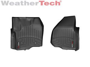 Weathertech® Floor Mats Floorliner Ford Super Duty Supercrew 2012 Black