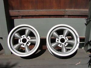 Vintage American Racing Magnesium Wheels Shelby R Model GT350 Scta