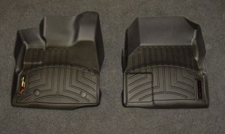 WeatherTech Digital Fit Black Front Floor Mats Liners 11 13 Chevy Equinox 443461