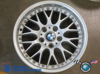 One 97 03 BMW 525 530 540 Factory BBs 2pc 17 Wheel Rim 59353 Style 42
