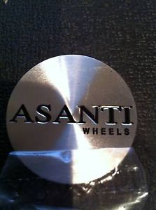 Asanti Custom Wheel Center Cap Stickers Daytona Style