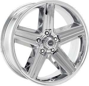 16 inch Chrome VN690 Wheels Rims 5x5 5x127