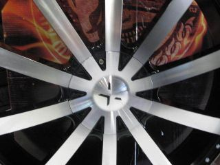 "28"" Starr 526 Lord Wheels Tire Dub Forgiato asanti MHT Giovanna Lexani Diablo"