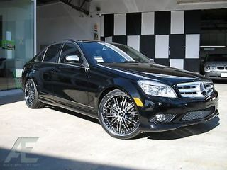 20 inch Mercedes S430 S500 S550 S600 Wheels Rims and Tires Hennessey Diamond Cut