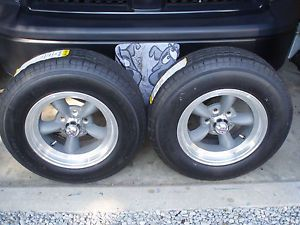 Torque Thrust American Racing Wheels with Radial Trailer Tires