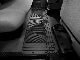Weathertech® All Weather Floor Mats 1997 2011 Ford Econoline E Series Black