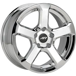 17x7 5 Chrome American Racing AR896 Wheels 5x110 45 Saturn Astra ion Redline