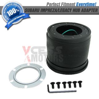 Fit 95 04 Subaru Impreza Legacy Boss Kit Steering Wheel Hub Adapter