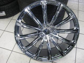 "26"" Gianelle Cuba 12 Wheel Tire Dub 28 Forgiato asanti Lexani Giovanna Diablo"