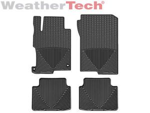 Weathertech® All Weather Floor Mats Honda Accord Sedan 2013 Black