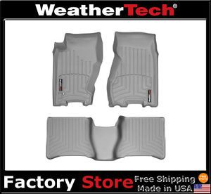 Weathertech® Floor Mats Floorliner Jeep Grand Cherokee 1999 2004 Grey