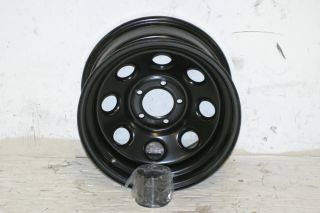 Black Rock 997 Series Wheel 15x8 5x4 5 87 06 Jeep Wrangler YJ TJ Cherokee XJ