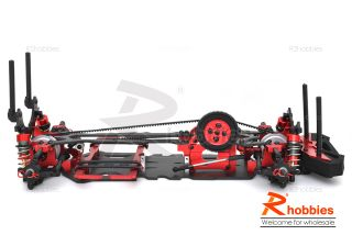 1 10 RC R C EP RK 7 Pre Motor Belt Drive Drift Car Carbon Fiber Chassis Kit R B