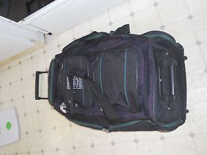 Ciao Colorado Wildlife Rolling Duffel Bag on Wheels $250