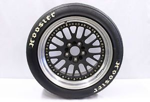 Nissan 350Z Racing Track Wheel Tire Pkg Hoosier Tires CCW Wheels Grand Am Cup