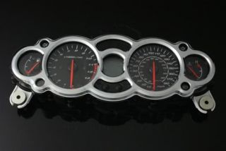Hayabusa Custom Smooth Chrome Speedometer Gauge Bezel Cover Trim 08 09 11 13 14
