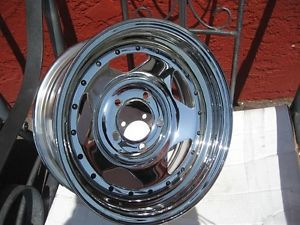 "14"" 14x6 Chrome Wheels Rims Boat Trailer Rims American Racing Are 46 Tires 5x4 5"