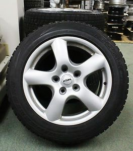 "4 Winter Tires Wheels for Porche Cayenne Audi Q7 VW Touareg 18"" Bridgestone"