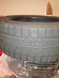 Bridgestone Blizzak Winter Tires LM60 245 45 18 100H Used 2 Seasons Low Miles