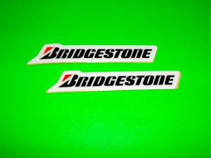 Bridgestone Tires Motocross Motorcycle Quad ATV Mini Stickers Decals Graphics
