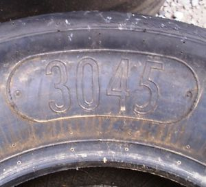 Hoosier Racing Tires 3045 Asphalt Late Model Road Racing Sold Individually
