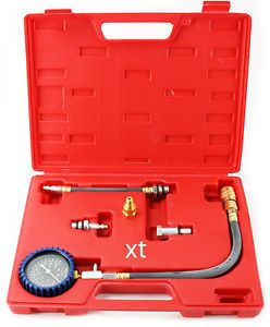 Motor Engine Compression Check Tester Tuner Kit Motor Automotive Repair Tool Set