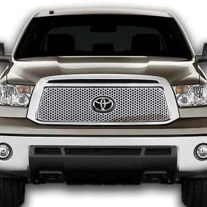 Toyota Tundra 10 13 Circle Front Grille Polished Stainless Billet Truck Parts