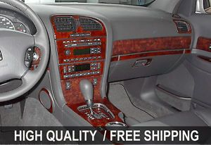Toyota Camry 92 96 Interior Wood Grain Dashboard Dash Kit Trim Parts TYT45