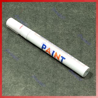 Car Motorcycle Tyre Tire Tread Marker Paint Pen White