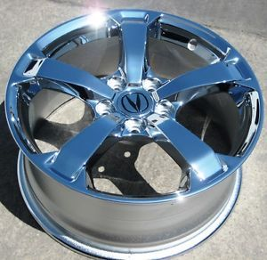 "Exchange Your Stock 4 18"" Factory Acura TL Chrome Wheels Rims 2009 12 71786"