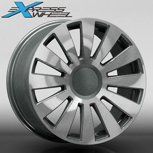 "19"" Audi A8 Style New Alloy Wheels Rims Gunmetal MF Fits Audi A6 2004 2011"