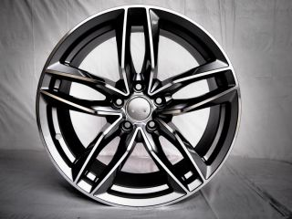 18x8 New S6 Style Wheels Fits Audi A4 Jetta Golf Passat Tiguan A6 45mm