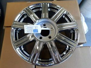 "Brand New Cadillac GM Chrome 9 Spoke Wheel 17x7 17"" P 9597469 2 of 3 Wheels"