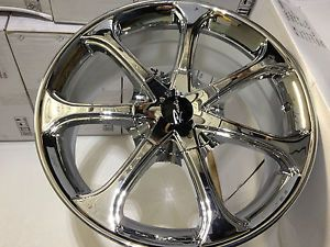 17 inch Chrome Raceline Wheels Rims Chrysler PT Cruiser Sebring Town Country