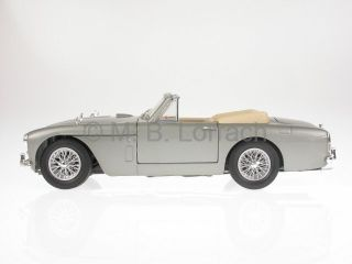 Aston Martin DB2 4 Mark 3 Convertible Grey Diecast Model Car Yatming 1 18