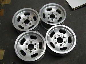 4 15x7 Jeep Dodge Slot Mag Wheels Rims 6 Lug 6x5 5