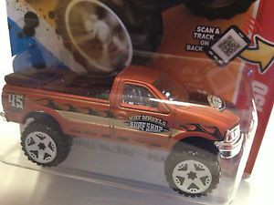 Hot Wheels 2012 Release 1997 Ford F 150 Pickup Truck Scale 1 64 Brown