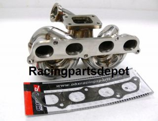 OBX Equal Length Turbo Header Manifold 00 05 GTS Celica